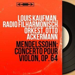 Louis Kaufman, Radio Filharmonisch Orkest, Otto Ackermann 歌手頭像