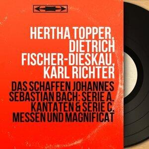 Hertha Töpper, Dietrich Fischer-Dieskau, Karl Richter 歌手頭像