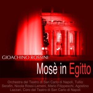 Orchestra del Teatro di San Carlo di Napoli, Tullio Serafin, Nicola Rossi-Lemeni, Mario Filippeschi 歌手頭像