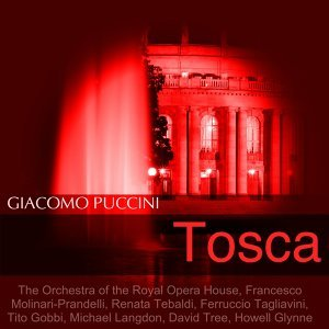 The Orchestra of the Royal Opera House, Francesco Molinari-Prandelli, Renata Tebaldi, Ferruccio Tagliavini, Tito Gobbi, Michael Langdon, David Tree, Howell Glynne 歌手頭像