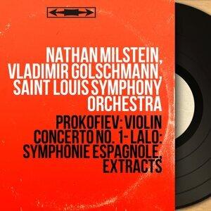 Nathan Milstein, Vladimir Golschmann, Saint Louis Symphony Orchestra 歌手頭像