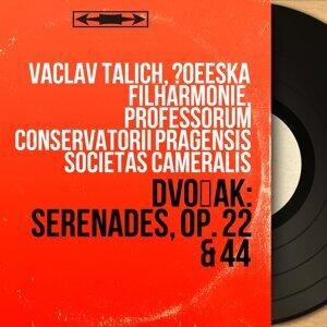Václav Talich, Česká filharmonie, Professorum Conservatorii Pragensis Societas Cameralis 歌手頭像