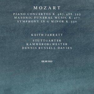 Keith Jarrett & Dennis Russell Davies & Stuttgarter Kammerorchester 歌手頭像