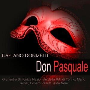 Orchestra Sinfonica Nazionale della RAI di Torino, Mario Rossi, Cesare Valletti, Alda Noni 歌手頭像