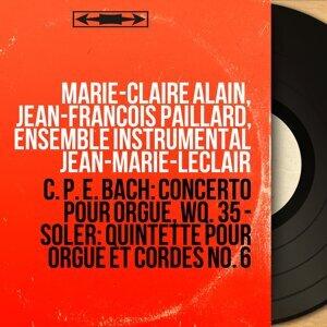 Marie-Claire Alain, Jean-François Paillard, Ensemble instrumental Jean-Marie-Leclair 歌手頭像