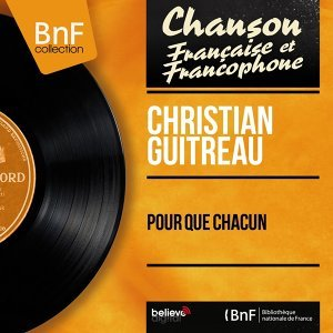 Christian Guitreau 歌手頭像