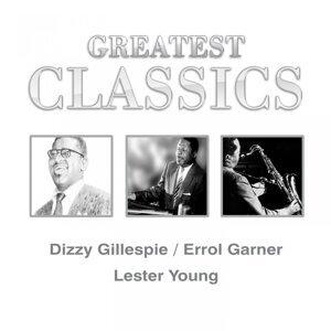 Dizzy Gillespie, Errol Garner, Lester Young 歌手頭像