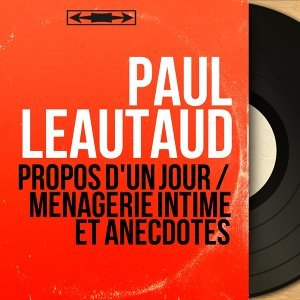 Paul Léautaud 歌手頭像