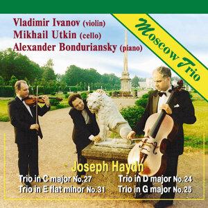 Moscow Trio: Vladimir Ivanov, Mikhail Utkin, Alexander Bonduriansky 歌手頭像