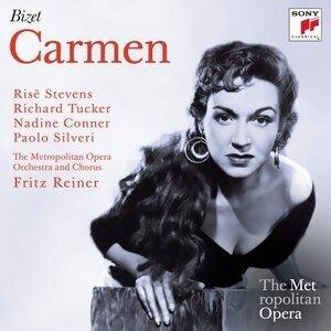 Fritz Reiner; Risë Stevens, Nadine Conner, Richard Tucker, Paolo Silveri 歌手頭像