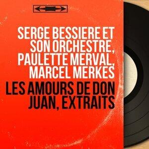 Serge Bessière et son orchestre, Paulette Merval, Marcel Merkès 歌手頭像