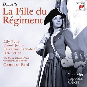 Gennaro Papi; Lily Pons, Raoul Jobin, Irra Petina, Salvatore Baccaloni 歌手頭像