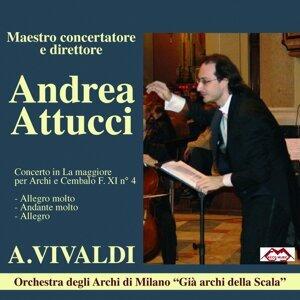 Andrea Attucci, Orchestra degli Archi de Milano 歌手頭像