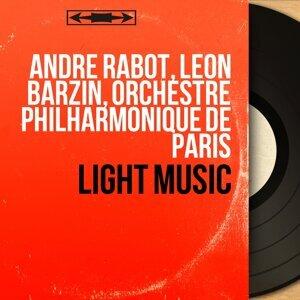 André Rabot, Léon Barzin, Orchestre philharmonique de Paris 歌手頭像