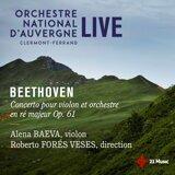 Alena Baeva, Roberto Forés Veses, Orchestre national d'Auvergne Clermont-Ferrand