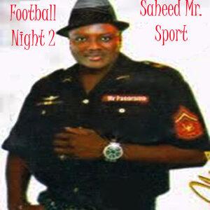 Saheed Mr. Sport 歌手頭像