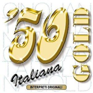 50 italiana gold 歌手頭像