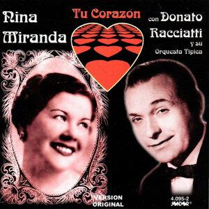 Nina Miranda & Donato Racciatti y Su Orquesta Típica 歌手頭像