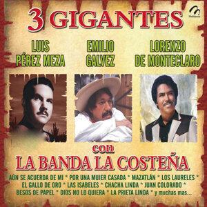 Luis Perz Meza   Emilio Galvez   Lorenzo De Monte Claro Con La Banda La Costeña 歌手頭像