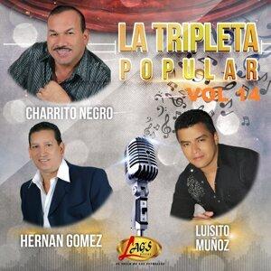 El Charrito Negro, Hernán Gómez, Luisito Muñoz 歌手頭像