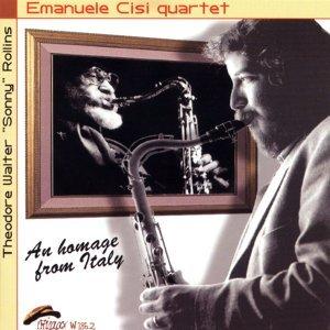 Emanuele Cisi Quartet アーティスト写真