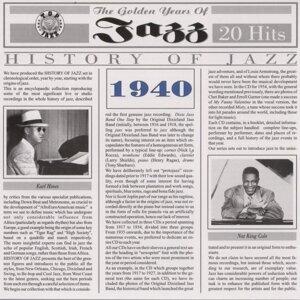 History of Jazz 1940 歌手頭像