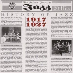 History Of Jazz 1917 - 1927 歌手頭像