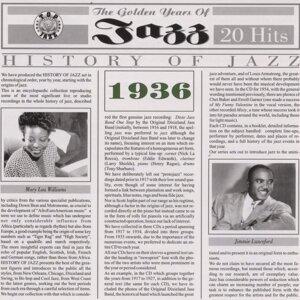 History Of Jazz 1936 歌手頭像