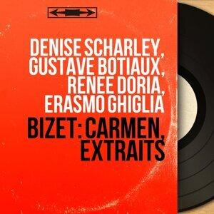 Denise Scharley, Gustave Botiaux, Renée Doria, Erasmo Ghiglia 歌手頭像