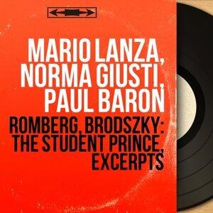 Mario Lanza, Norma Giusti, Paul Baron 歌手頭像