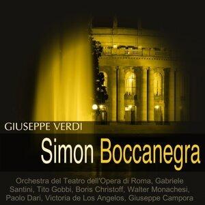 Orchestra del Teatro dell'Opera di Roma, Gabriele Santini, Tito Gobbi, Boris Christoff 歌手頭像