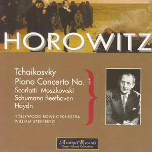 Vladimir Horowitz, Hollywood Bowl Orchestra, William Steinberg