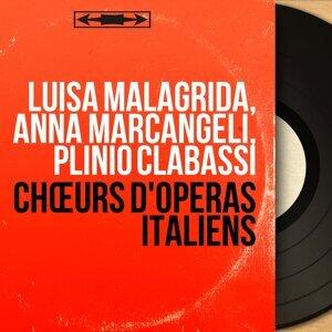 Luisa Malagrida, Anna Marcangeli, Plinio Clabassi 歌手頭像
