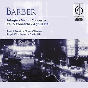 Barber: Adagio . Violin Concerto . Cello Concerto アーティスト写真