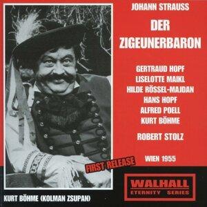 Gertraud Hopf, Liselotte Maikl, Hilde Rössel-Majdan, Hans Hopf, Alfred Poell, Kurt Böhm, Robet Stolz 歌手頭像
