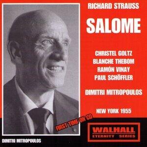 Dimitri Mitropoulos, Christel Goltz, Blanche Thebom 歌手頭像
