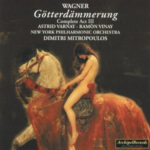 New York Philharmonic Orchestra, Dimitri Mitropoulos, Astrid Varnay, Ramon Vinay 歌手頭像