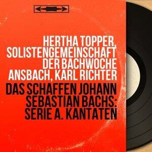 Hertha Töpper, Solistengemeinschaft der Bachwoche Ansbach, Karl Richter 歌手頭像
