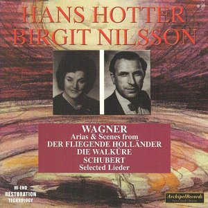 Hans Hotter, Brigit Nilsson, Gerald Moore, Leopold Ludwig, The Philharmonia Orchestra 歌手頭像