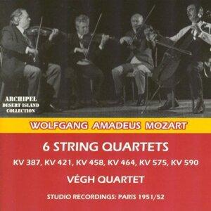 Végh Quartet, Sandor Végh, Georges Janzer, Sandor Zöldy, Paul Szabo