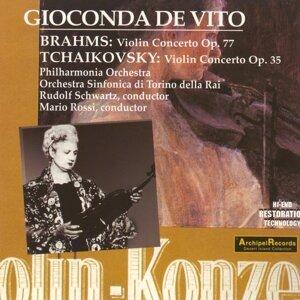 Gioconda de Vito, Orchestra Sinfonica della RAI di Torino 歌手頭像
