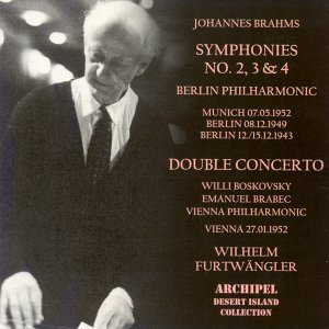 Brahms: Symphonies Nos. 2, 3 & 4, Concerto for Violin, Violoncello and Orchestra in A Minor Op.102 歌手頭像