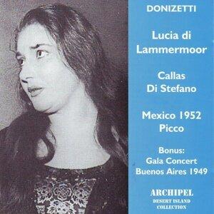Maria Callas, Giuseppe di Stefano, Guido Picco 歌手頭像