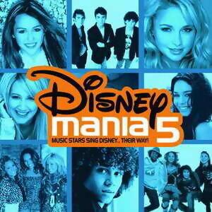 Disneymania 5 歌手頭像