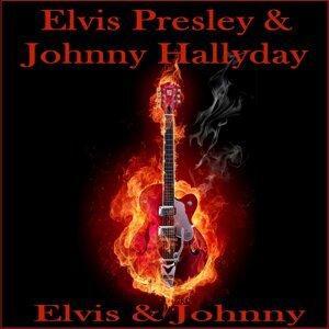 Johnny Hallyday & Elvis Presley アーティスト写真