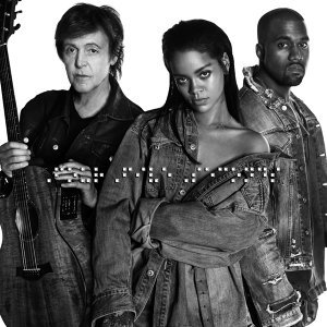 Kanye West,Paul McCartney,Rihanna