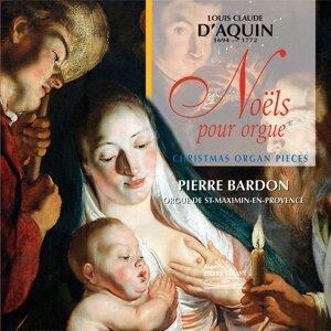 Pierre Bardon, orgue de St-Maximin-en-Provence アーティスト写真