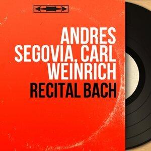 Andrés Segovia, Carl Weinrich 歌手頭像