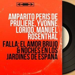 Amparito Peris de Pruliere, Yvonne Loriod, Manuel Rosenthal 歌手頭像
