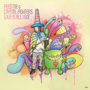 Feed Me & Crystal Fighters アーティスト写真